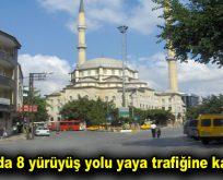 İstanbul'da 8 yürüyüş yolu yaya trafiğine kapatıldı