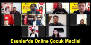 Esenler'de Online Çocuk Meclisi