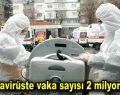 Koronavirüste vaka sayısı 2 milyonu aştı