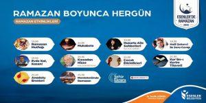 Esenler'de Ramazan Şehir Ekranı TV'de Yaşanacak