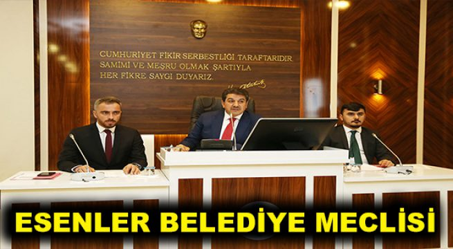 Esenler Belediye Meclisi 6 Temmuz'da