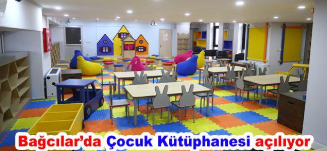 Bağcılar'da çocuk kütüphanesi açılıyor