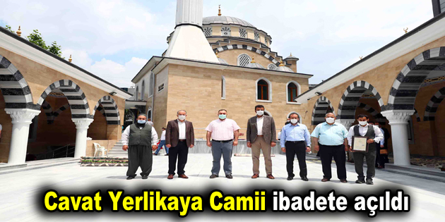 Cavat Yerlikaya Camii ibadete açıldı