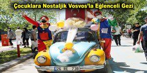 Esenler'de Çocuklara Nostaljik Vosvos'la Eğlenceli Gezi