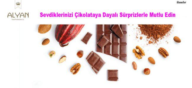 Sevdiklerinizi Çikolataya Dayalı Sürprizlerle Mutlu Edin