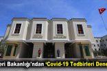 İçişleri Bakanlığı'ndan 'Covid-19 Tedbirleri Denetimi'
