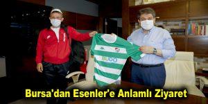Bursa'dan Esenler'e Anlamlı Ziyaret