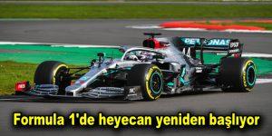 Formula 1'de heyecan yeniden başlıyor