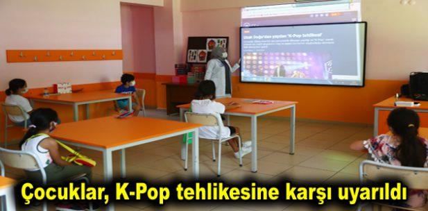 Çocuklar, K-Pop tehlikesine karşı uyarıldı