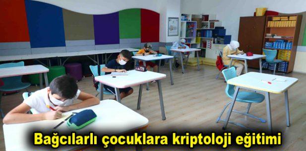 Bağcılarlı çocuklara kriptoloji eğitimi
