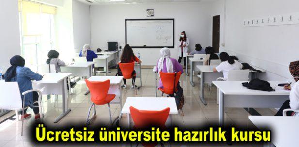 Ücretsiz üniversite hazırlık kursu