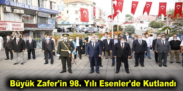 Büyük Zafer'in 98. Yılı Esenler'de Kutlandı