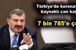 Türkiye'de koronavirüs kaynaklı can kaybı artıyor