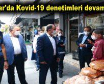 Bağcılar'da Kovid-19 denetimleri devam ediyor