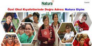 Özel Okul Kıyafetlerinde Doğru Adres: Natura Giyim