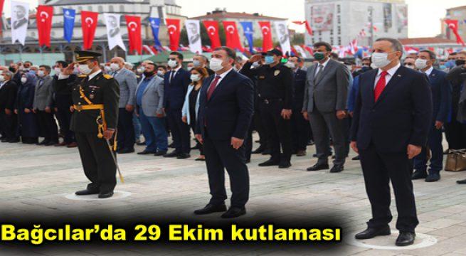 Bağcılar'da 29 Ekim kutlaması