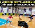 """""""GENÇ YETENEK BESYO AKADEMİSİ"""" İLE ÜNİVERSİTEYİ KAZANDILAR"""