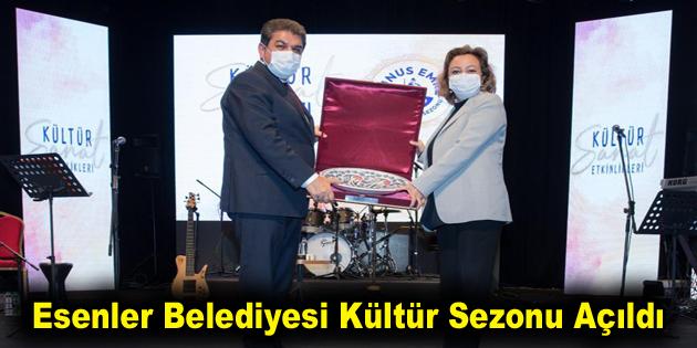 Esenler Belediyesi Kültür Sezonu Açıldı