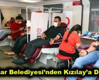Bağcılar Belediyesi'nden Kızılay'a Destek