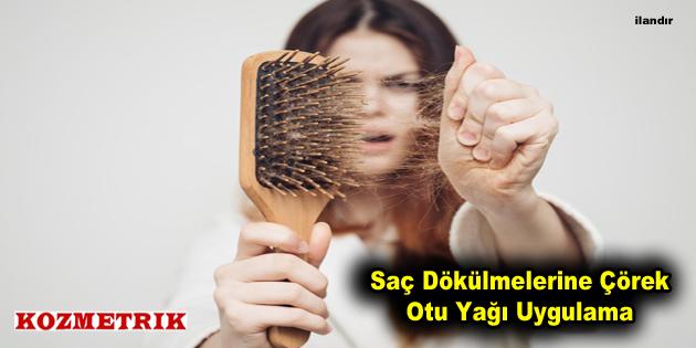 Saç Dökülmelerine Çörek Otu Yağı Uygulama