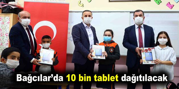 Bağcılar'da 10 bin tablet dağıtılacak