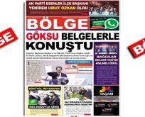 """BÖLGE GAZETESİ , YIL:20 , SAYI: 203 , """"KASIM"""" SAYISI ÇIKTI!.."""