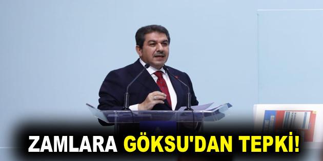 ZAMLARA GÖKSU'DAN TEPKİ!