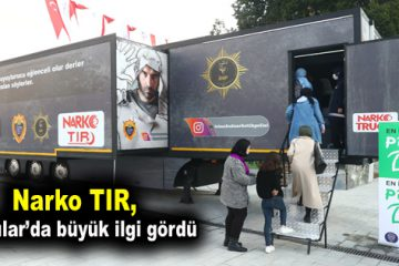 Narko TIR, Bağcılar'da büyük ilgi gördü