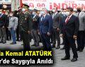Mustafa Kemal ATATÜRK Esenler'de Anıldı