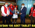 WEFA'DAN 100 ADET TABLET BAĞIŞI