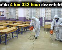 Bağcılar'da 4 bin 333 bina dezenfekte edildi