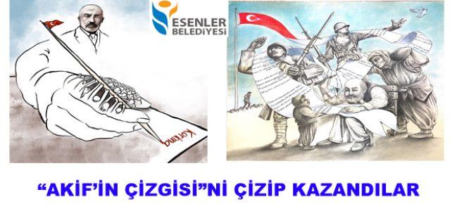"""AKİF'İN ÇİZGİSİ""Nİ ÇİZİP KAZANDILAR"