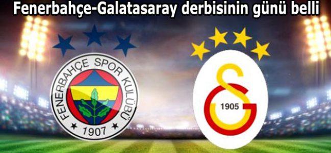 Fenerbahçe-Galatasaray derbisinin günü belli oldu