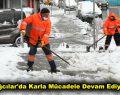 Bağcılar'da karla mücadele