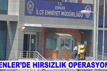Esenler'de 7 ayrı hırsızlık olayı
