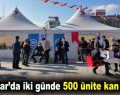 Bağcılar'da iki günde 500 ünite kan bağışı