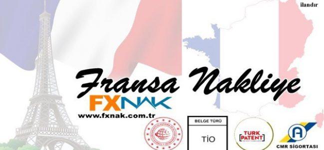 Fransa'ya Yüklerinizi FXNAK Lojistik'e Emanet Edebilirsiniz