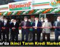 Bağcılar'da ikinci Tarım Kredi Marketi açıldı