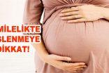HAMİLELİKTE BESLENMEYE DİKKAT!