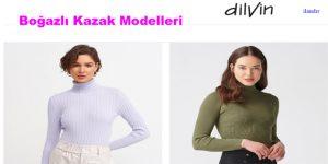 Boğazlı Kazak Modelleri