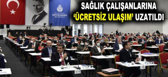 SAĞLIK ÇALIŞANLARINA 'ÜCRETSİZ ULAŞIM' UZATILDI