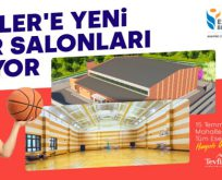 Esenler'e Yeni Spor Salonları Geliyor