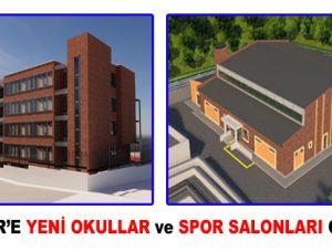 ESENLER'E YENİ OKULLAR VE SPOR SALONLARI GELİYOR!