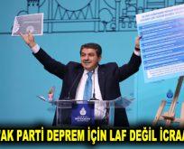 """GÖKSU: """"AK PARTİ DEPREM İÇİN LAF DEĞİL İCRAAT YAPTI!"""""""