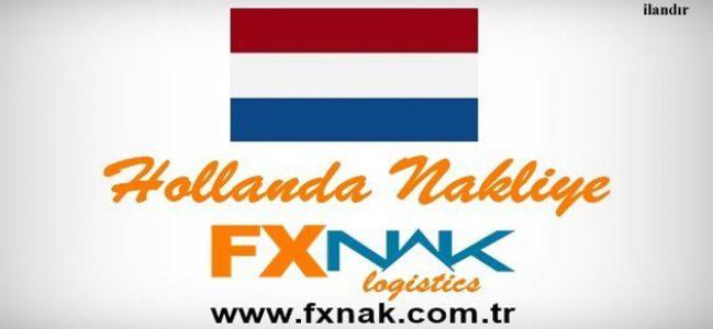 FXNAK'tan Hollanda'ya Komple, Parsiyel Nakliye Çözümleri