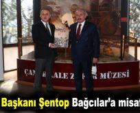 TBMM Başkanı Şentop Bağcılar'a misafir oldu