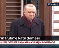 """Başkan Erdoğan; """"Bu ifade devlet başkanına yakışmadı"""""""