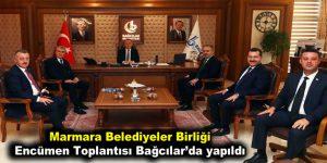 Marmara Belediyeler Birliği Encümen Toplantısı Bağcılar'da yapıldı