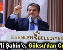 CHP'li Şahin'e, Göksu'dan Cevap!