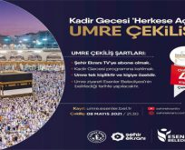 ESENLER BELEDİYESİ'NDEN UMRE ÇEKİLİŞİ!